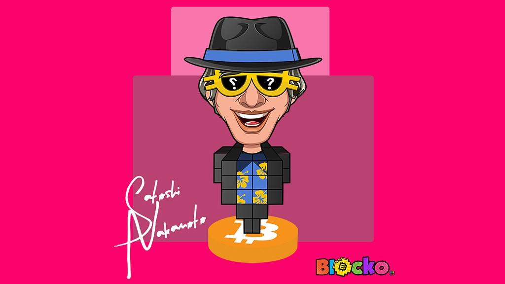 Project image for Crypto Toy Collectables By Blocko - Satoshi Nakamoto Bitcoin
