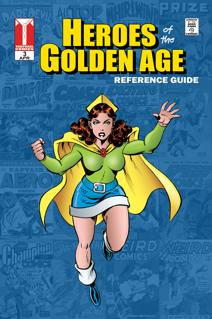 Heroes of the Golden Age #3 - Regular Cover