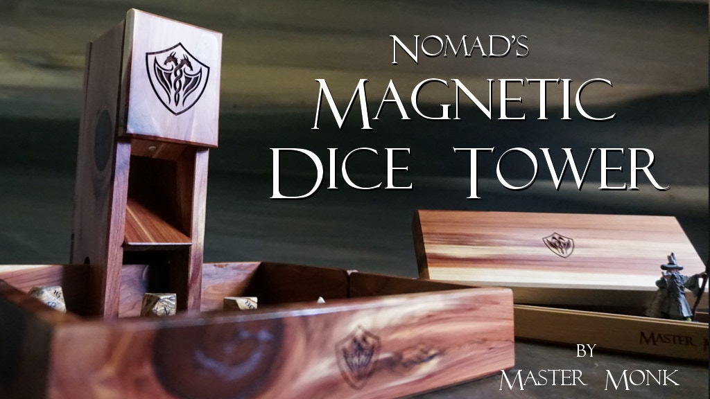 The Nomad's Magnetic Dice Tower - Master Monk project video thumbnail