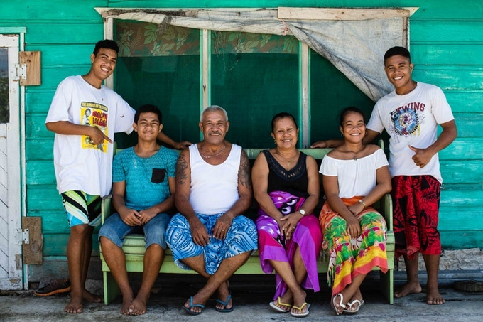 The Taupau Agafili Family