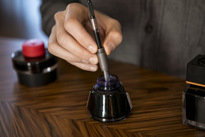 The #6 sized nibs open up an endless options of inks and even allow you to swap nibs with other brands