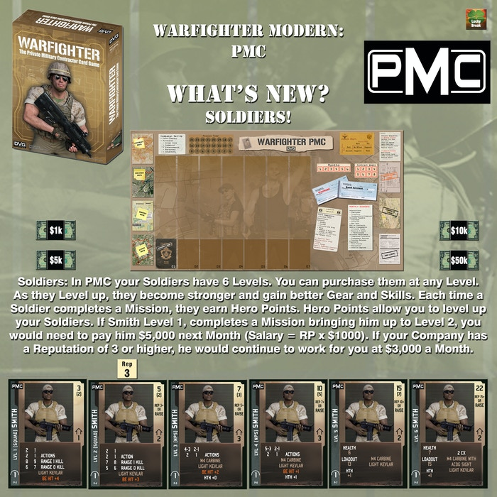 Project Updates for Warfighter Modern - Wave 3 - Shadow War