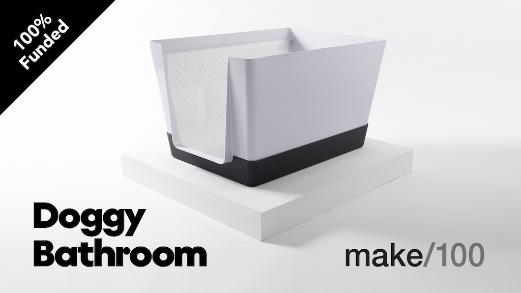Doggy Bathroom: make/100 project video thumbnail