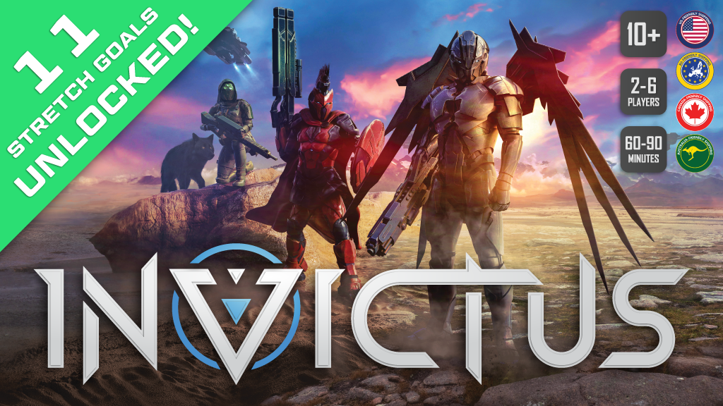 Invictus: A Deck Building Game project video thumbnail
