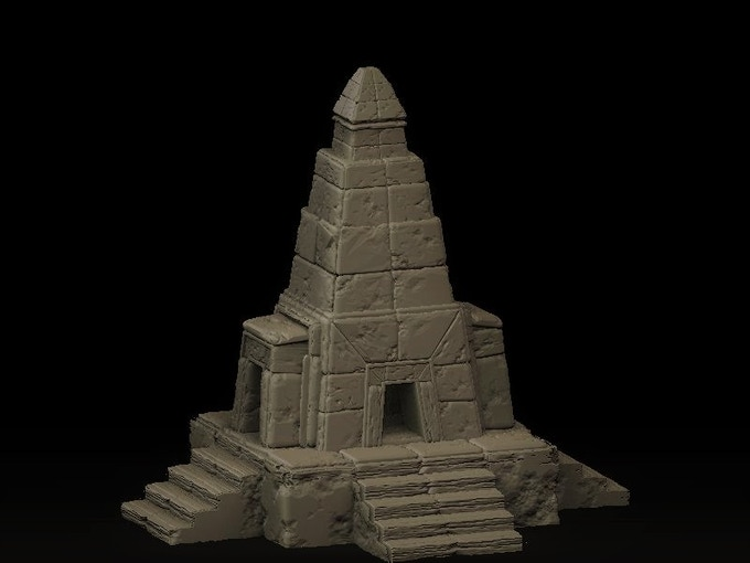 Mysterious temple