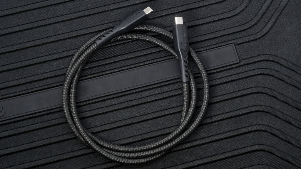 World's Toughest USB-C Cable Built With Ballistic Fiber project video thumbnail