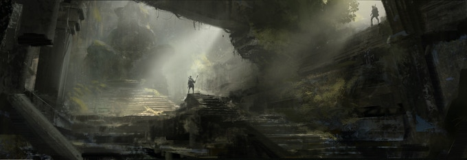 The closer you get to the heart of Davokar, the greater is your chance of finding well-preserved ruins. On the other hand, the further you travel, the longer is the way back home ...