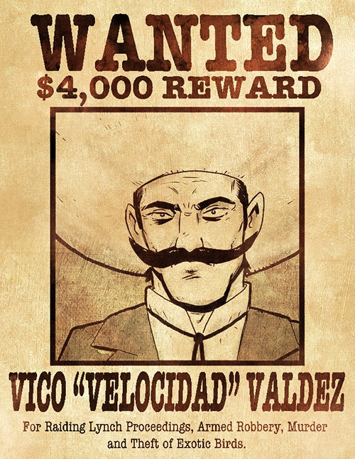 Vico poster by Mateo Martínez
