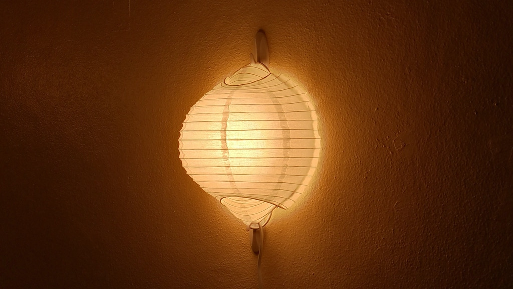 The Chochin Wall Lamp project video thumbnail