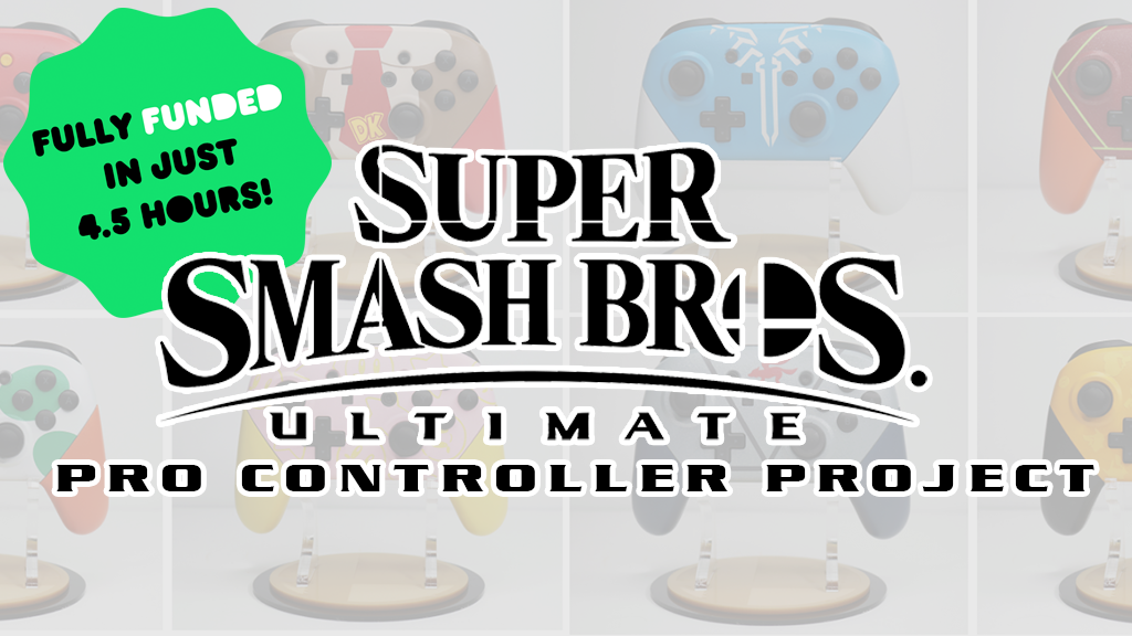 Super Smash Bros Ultimate Pro Controller Project