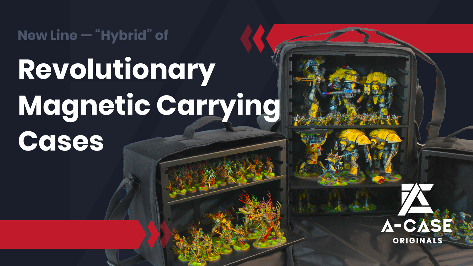A Magnetic Carrying and Storage Solution for miniatures