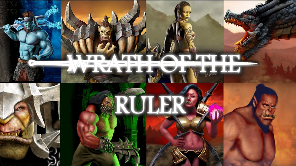 Project image for Wrath of the Ruler - Miniature Board Game (Canceled)