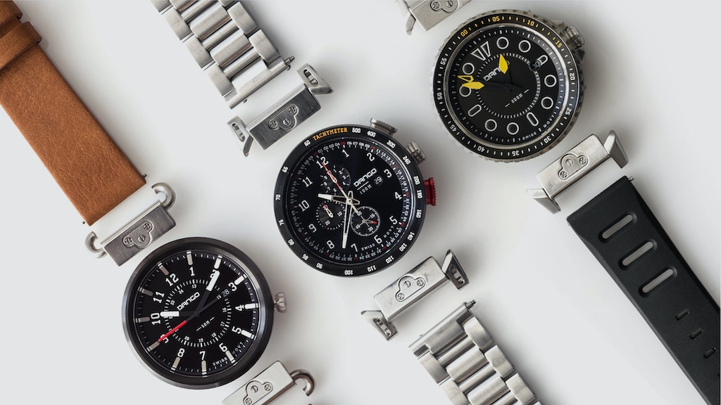 Dango Modular Watches with Quick Release Lugs & Straps project video thumbnail