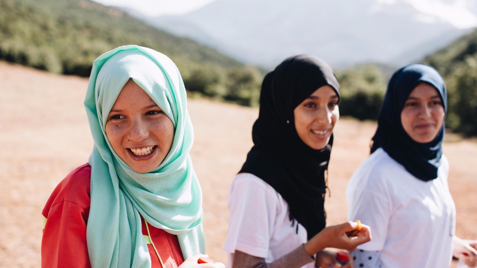 Stories of hope, love and determination from an inspiring project in rural Morocco helping teenage girls access an education.