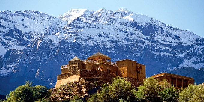 Kasbah du Toubkal — your chance to stay here as one of the rewards