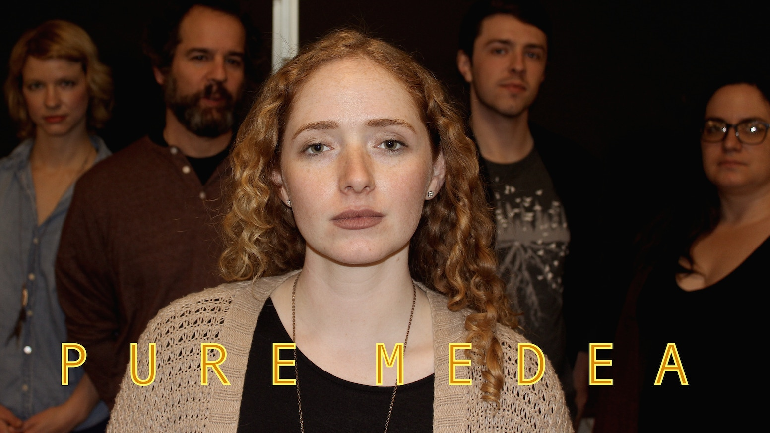 We're producing a play about a theater group rehearsing Euripides' Medea, and how the tragedy mirrors the inner lives of the actors.