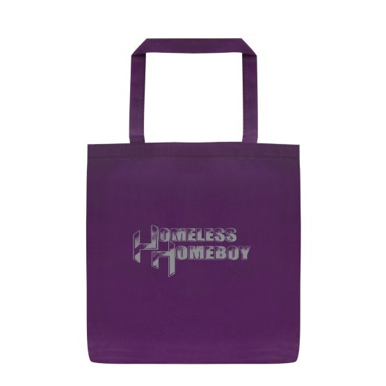 14x13.5 Homeless Homeboy Tote Bag