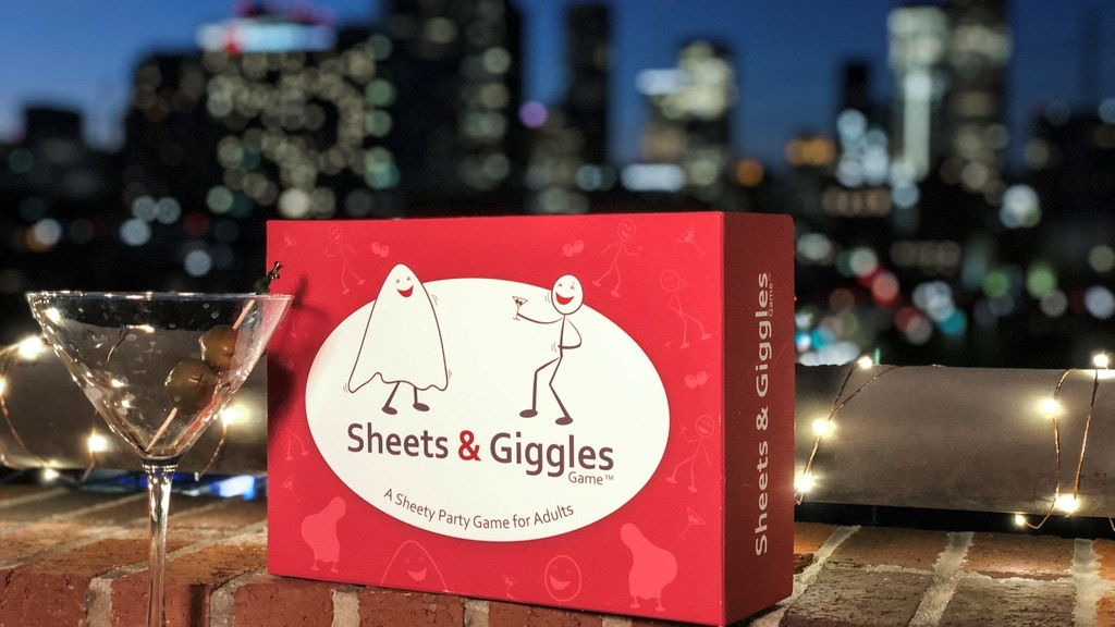 The Sheets & Giggles Game - A Party Game for Adults project video thumbnail