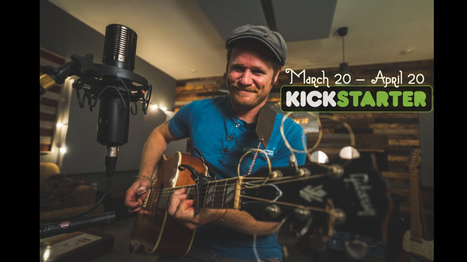 259 Backers Successfully Funded This Project On April 19th for Nicholas Edward Williams' debut fingerpicking and folksong album 'As I Go Ramblin' Around'!