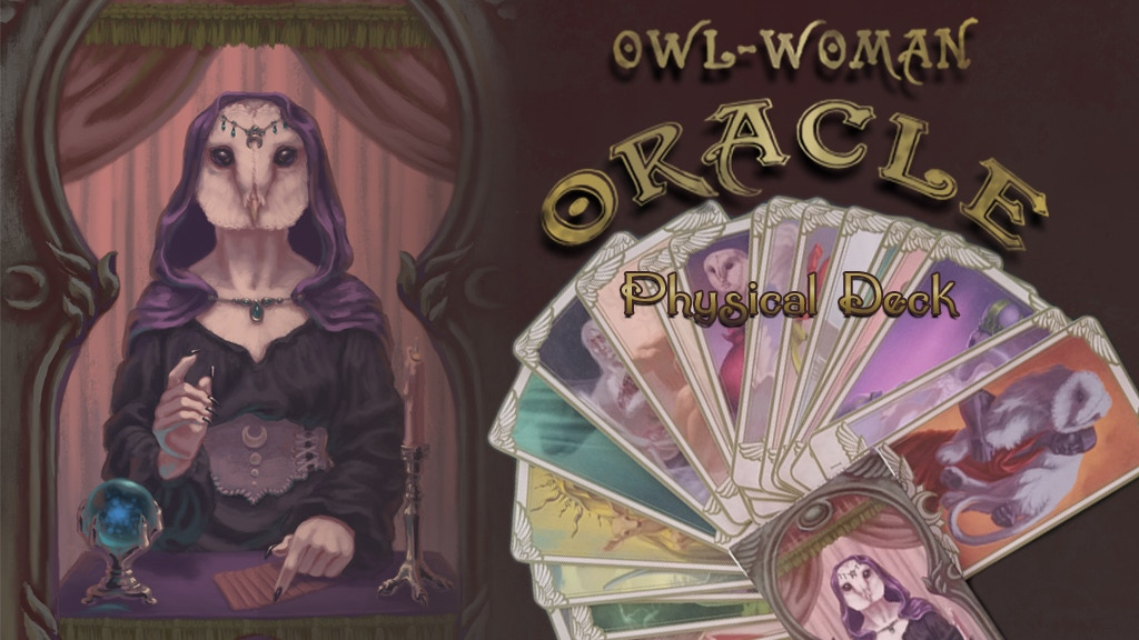 The Owl-Woman Oracle Deck project video thumbnail