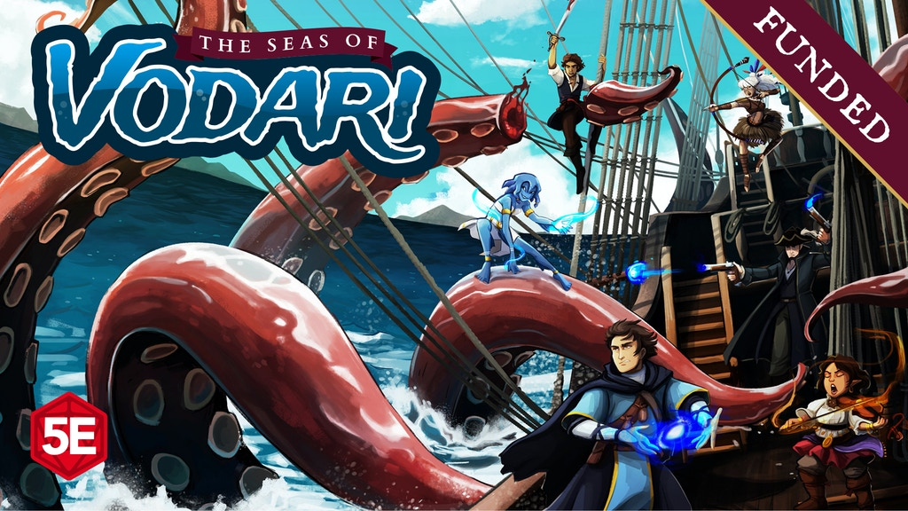 The Seas of Vodari - 5th Edition Swashbuckling & Sorcery project video thumbnail