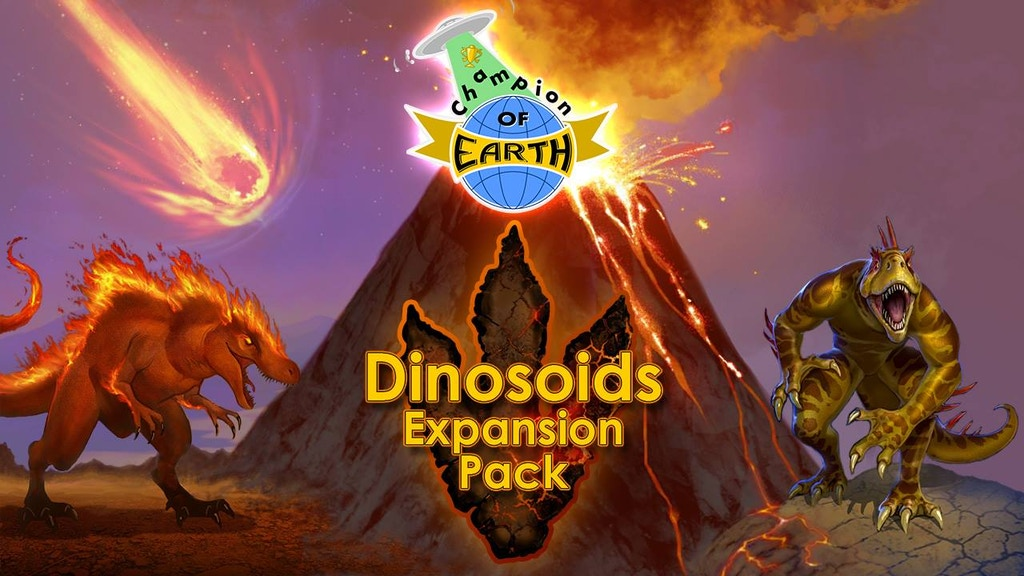 Champion of Earth (and Dinosoids Expansion) project video thumbnail