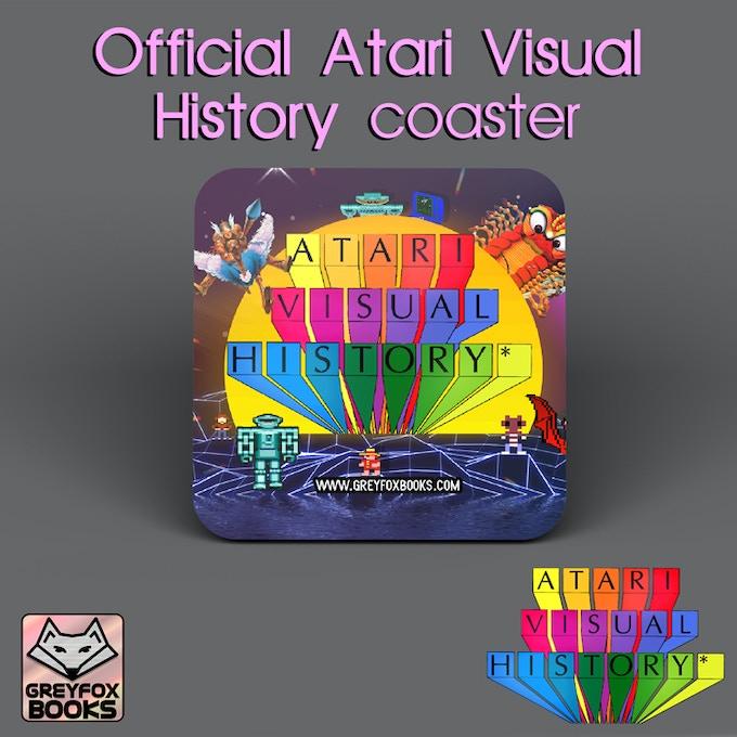Atari: A Visual History Coaster