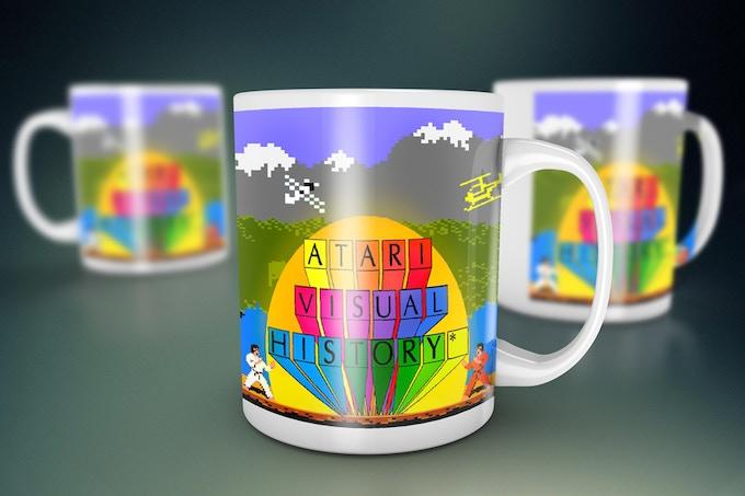 Atari Visual History Mug Number One