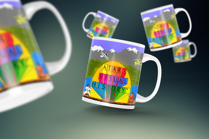 Atari Visual History Mug Number One