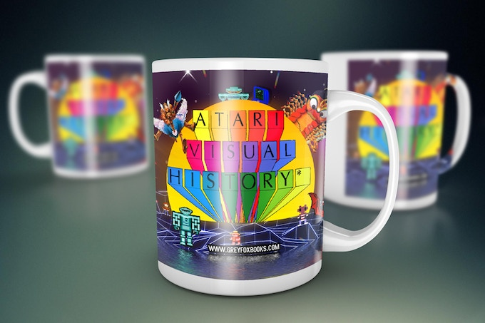 Atari Visual History Mug Number Two