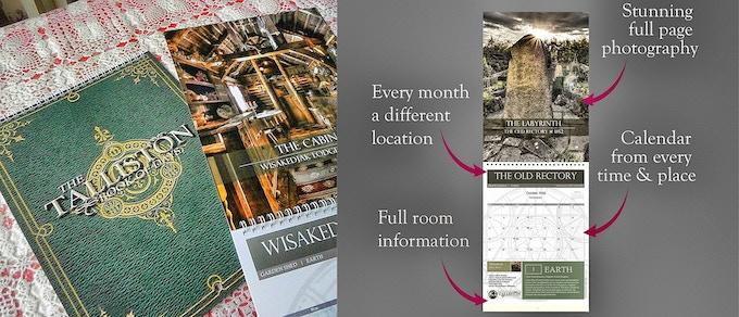 The Talliston Book of Days 13-month calendar.