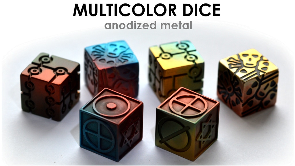 MULTICOLOR SIMBOL DICE project video thumbnail