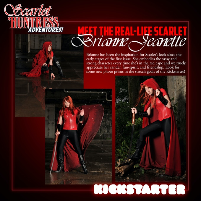 The Real Life Scarlet - Look for exclusive photo prints and bookmarks in the stretch goals!