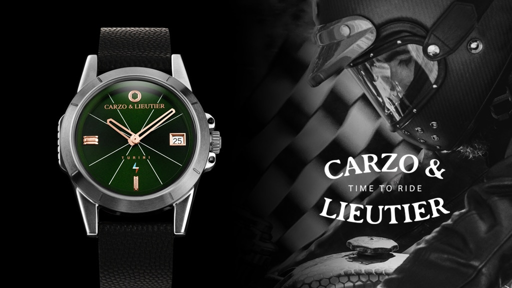 CARZO & LIEUTIER Motorcycle Inspired Watch - France / TURINI project video thumbnail