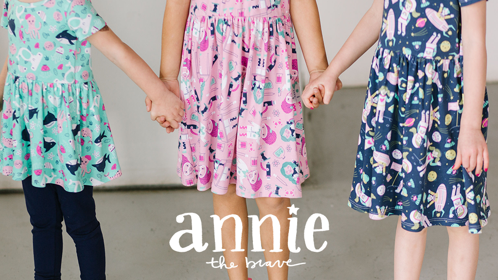 Annie the Brave - STEM-inspired dresses for girls project video thumbnail