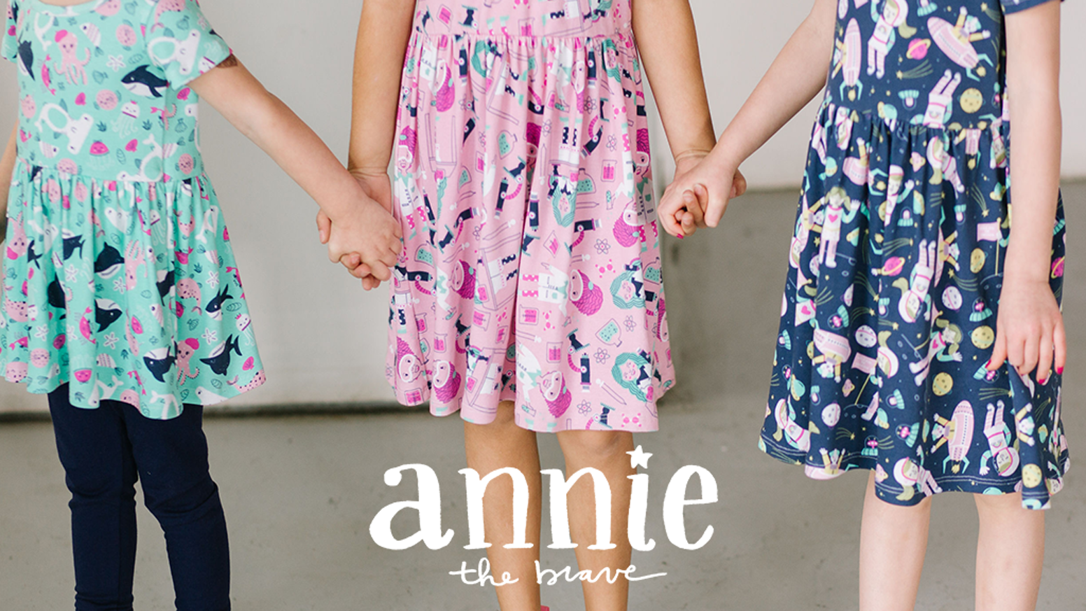 Annie the Brave is a brand that encourages girls to engage their interest in STEM through a line of whimsical, STEM-inspired dresses.