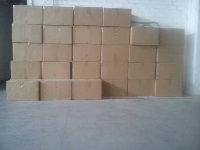 Ready for shipping master boxes