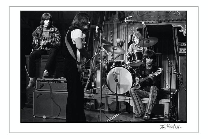 "Eric Clapton, John Lennon, Mitch Mitchell, Keith Richards ""The Dirty Mac"" 1968 (20x24 or 16x20)"