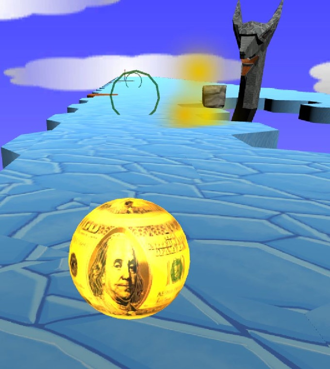 Get the Golden Money Ball and take down the dragon in style!
