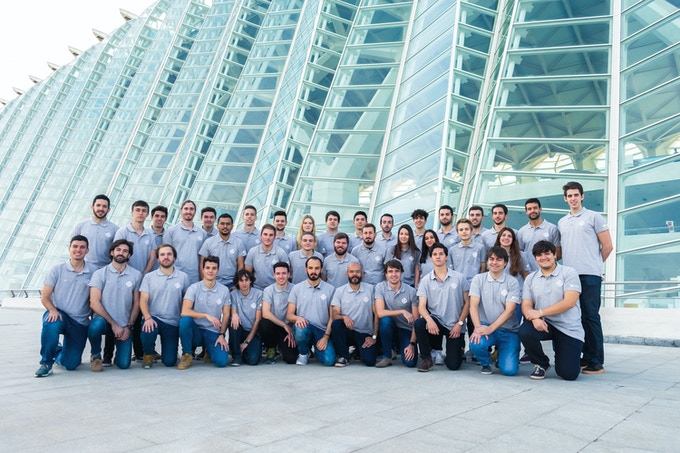 Hyperloop UPV 2019 Team