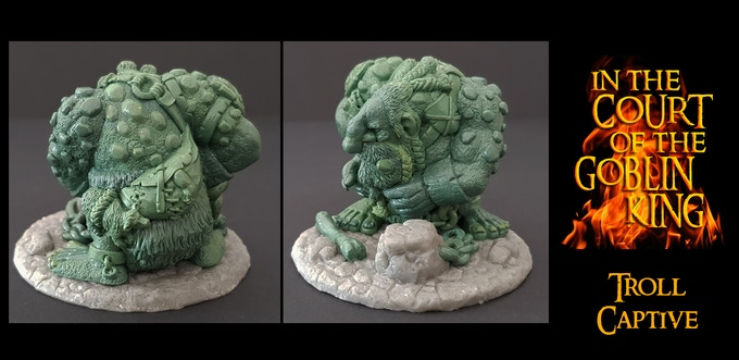 The Stone Troll (Captive) UNLOCKED