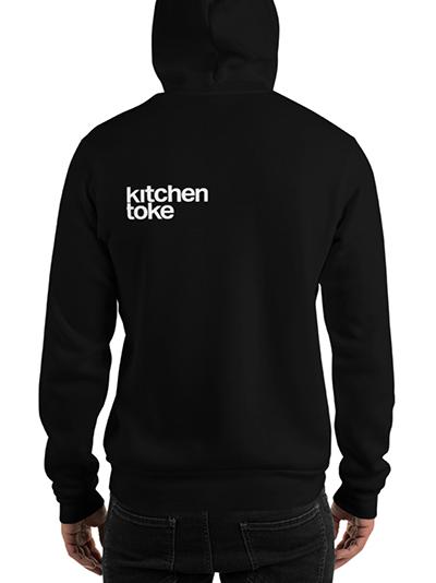"Kitchen Toke ""Feel Your Food"" Hoodie (back)"