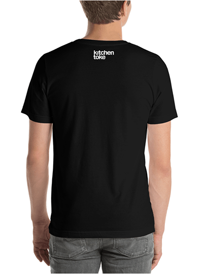 """Kitchen Toke """"Eat Your Greens"""" tee (back)"""