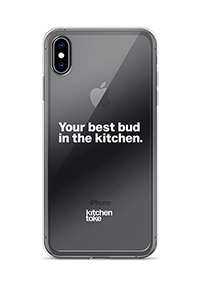 """Kitchen Toke """"Your best bud in the kitchen."""" iPhone case"""