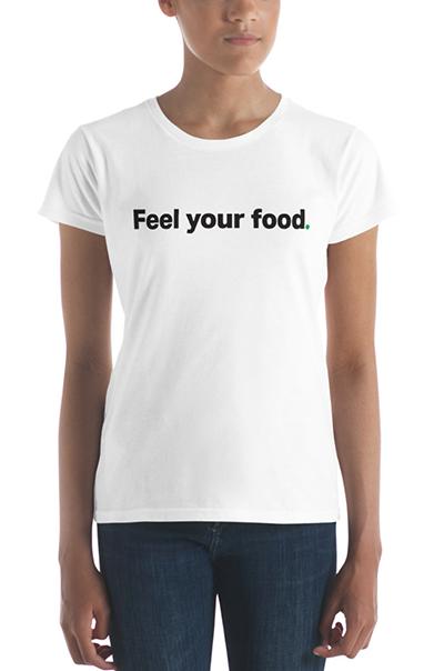 """Kitchen Toke """"Feel your food"""" tee"""