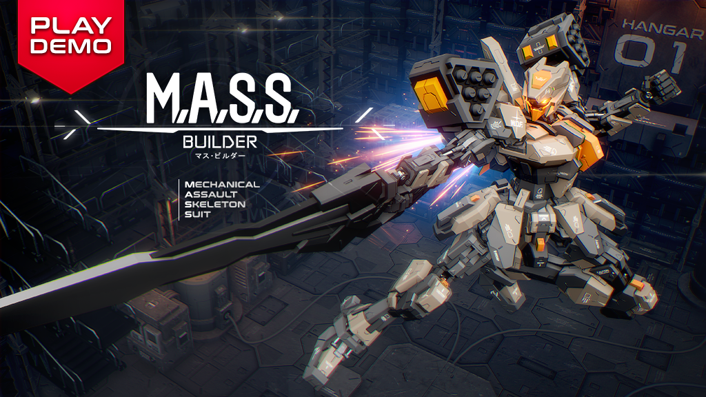 M A S S  Builder, A Fully Customizable Mecha Action Game by