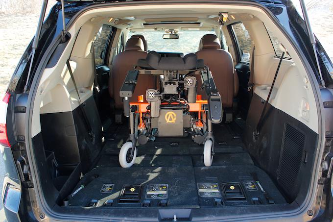 AbleChair in mini van