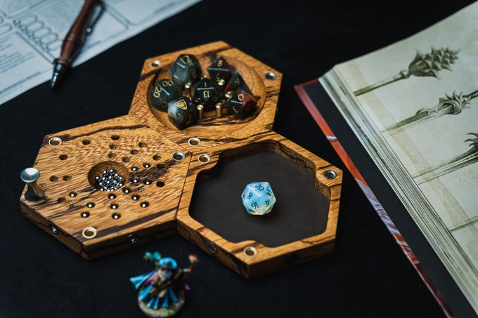 The Tile of Shame, Caster Tile and Rolling Tile are ideal for role-playing fans.  Each player can choose what mix of Tiles is best for them, but these three Tabletop Tiles will all work together to take your role-playing sessions to the next level.