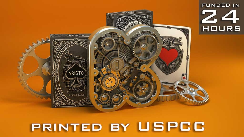 ARISTO STEAMPUNK PLAYING CARDS project video thumbnail