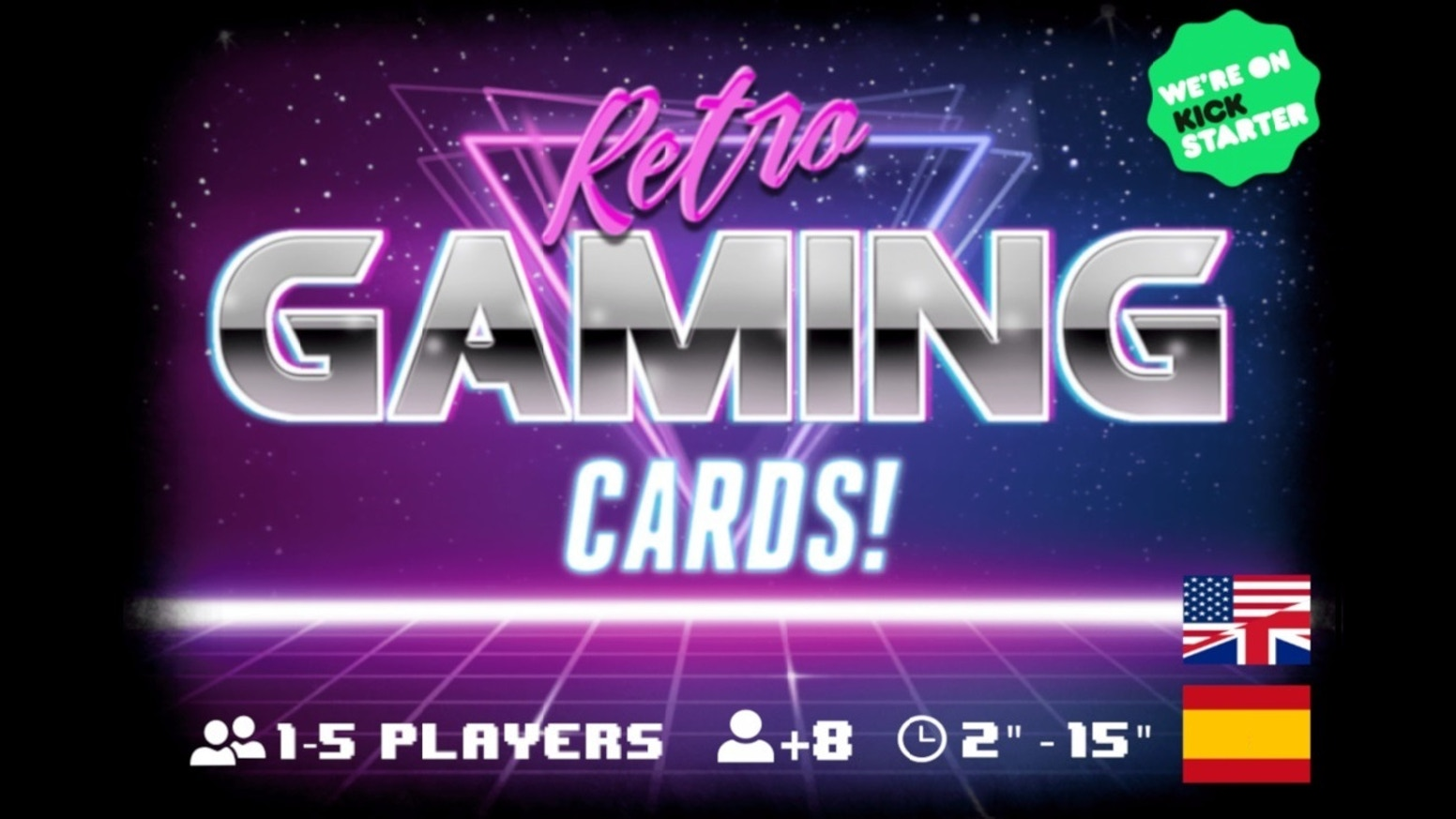 A card game inspired by the aesthetics and functionality of the first 80's PC games.
